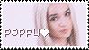Poppy stamp by cinnabutt