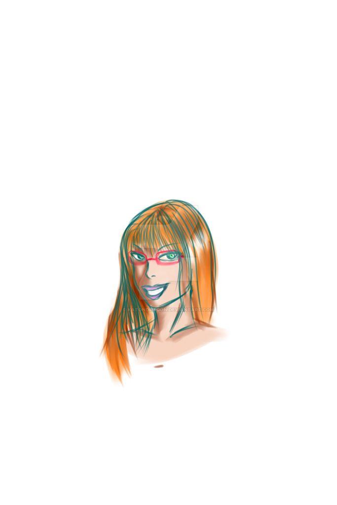 Face by katondragon