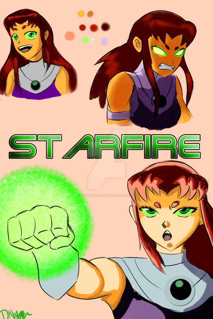 Starfire - Teen Titans by katondragon