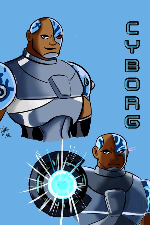 Cyborg - Teen Titans by katondragon