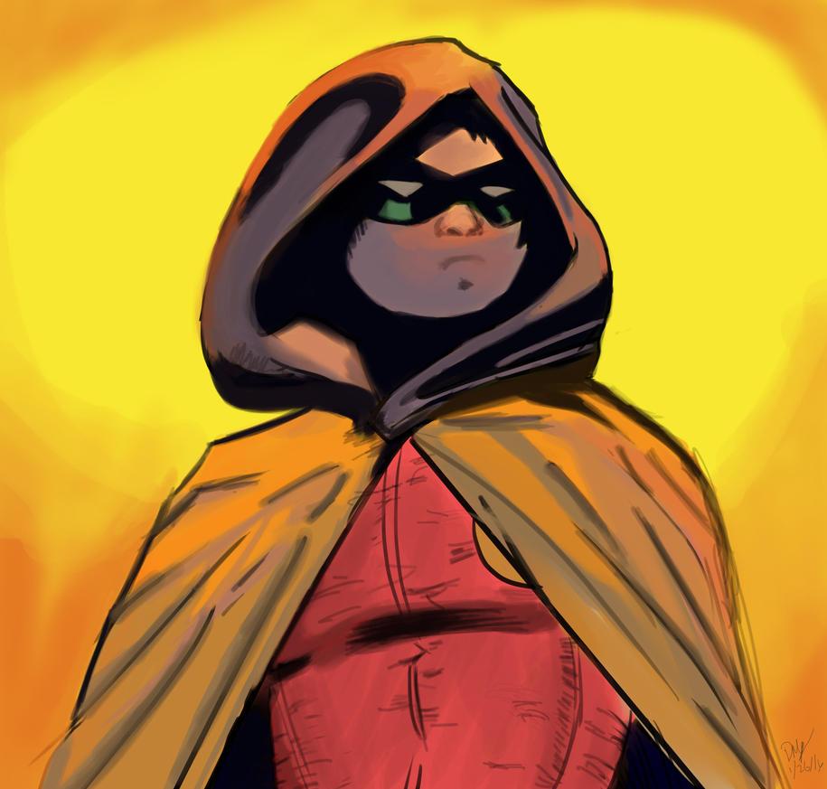 Damian Wayne by katondragon