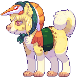 Eellie pixel commission by Dogquest