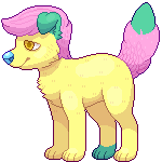 DolefulStarFruit Pixel Commission No Glasses by Dogquest
