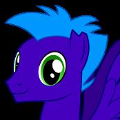 Blue Flash's portrait by Xalcer13