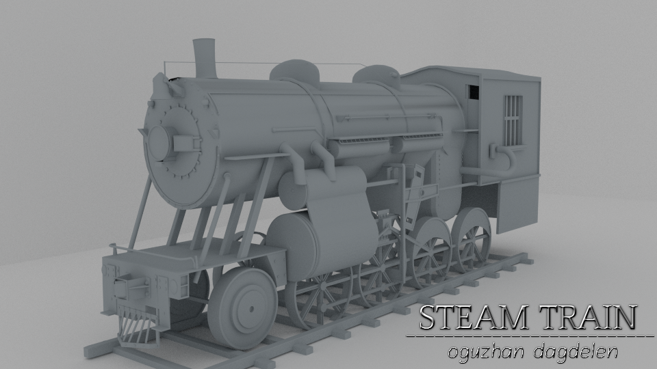 Steam Train 70.581 Polygon 4h32min by OguzhanDagdelen