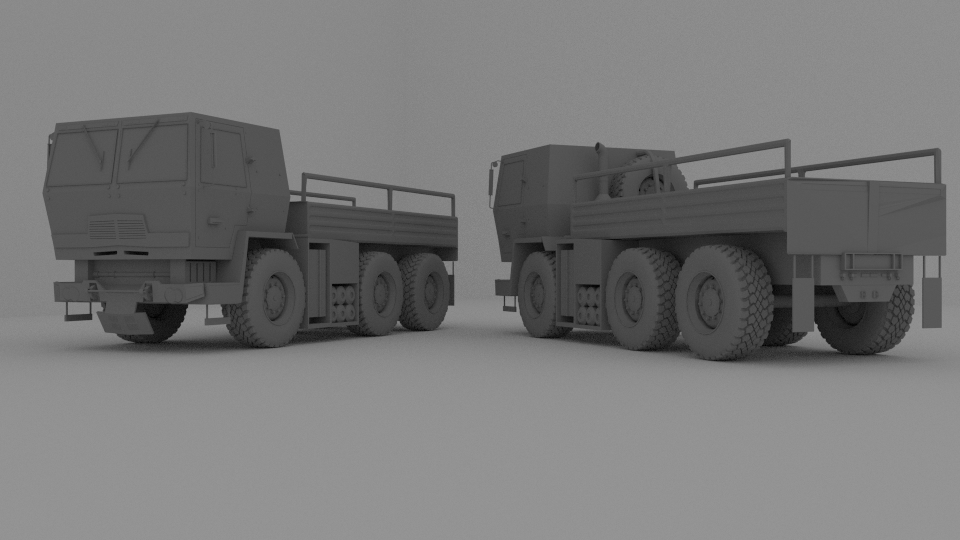 Medium Tactical Vehicle 3D Model by OguzhanDagdelen