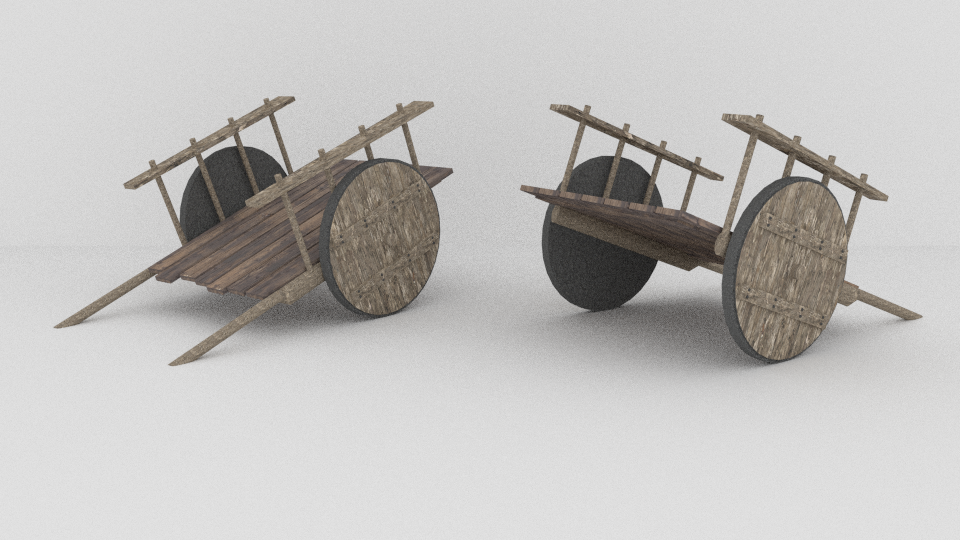 Oxcart 3D Model by OguzhanDagdelen