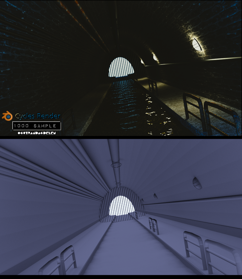 3D Tunnel Model - Oguzhan Dagdelen by OguzhanDagdelen
