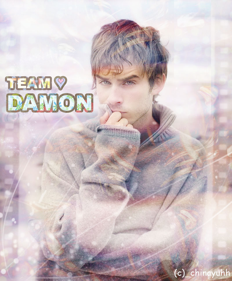 TEAM DAMON by xhineemharie