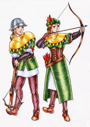 Archers by DraconsSon