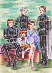 Family photo by DraconsSon