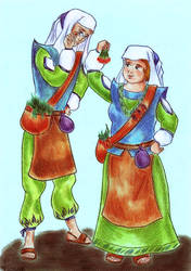 Herbalists by DraconsSon