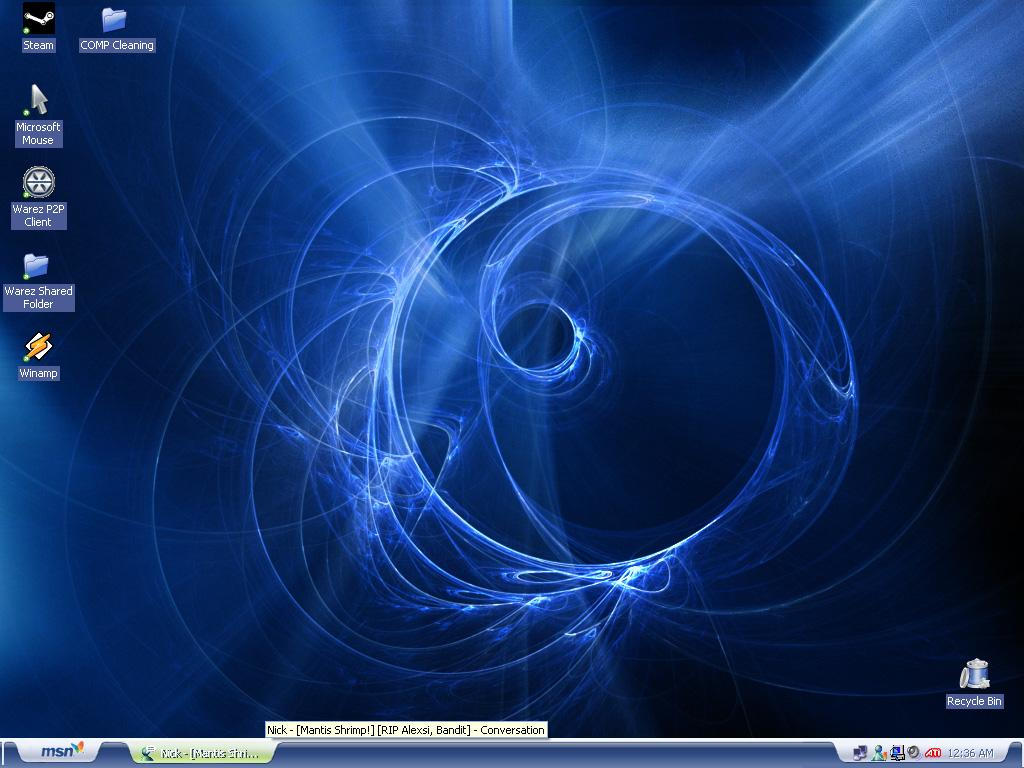 My Desktop.. WOOT by Squeedle-boy