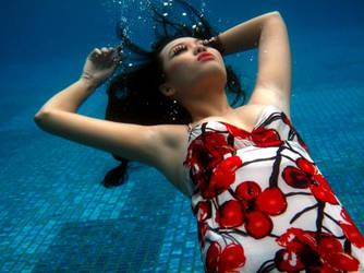 Drowning flower by yuichitakamura