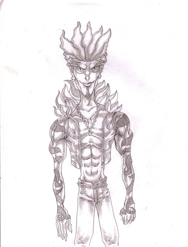 Dame Meth Sketch 2 by KirbBrimstone