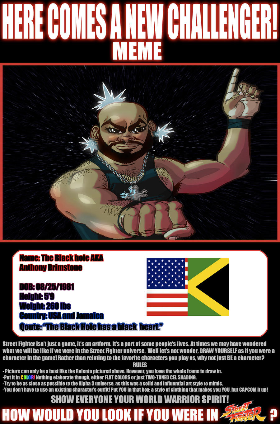 New Challenger Meme by KirbBrimstone