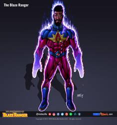 The Blaze Ranger (power FX) - Character Sheet