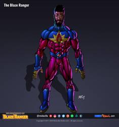 The Blaze Ranger - Character Sheet