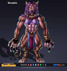 Weresphinx - Character Sheet