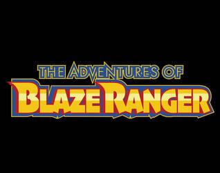 The Adventures of BlazeRanger Logo Version 2
