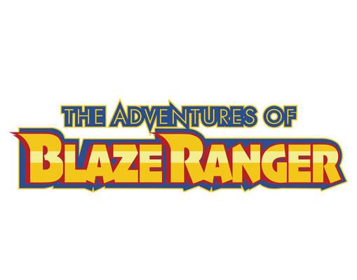 The Adventures of Blaze Ranger Logo V2 white BG