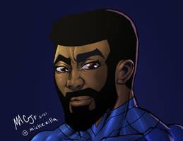 Blaze Ranger Face Sketch