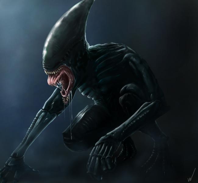 Xenomorph Queen Prometheus Xenomorph Human Hybrid...