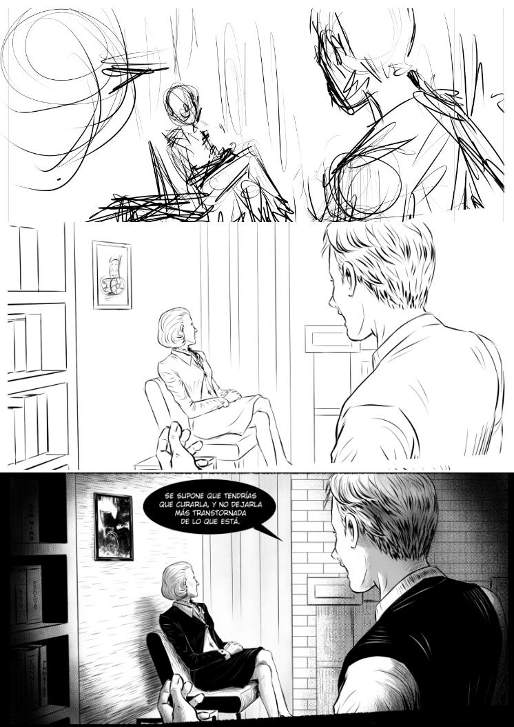 Comic Process by A-Rasen