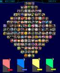 Super Smash Bros Delta Roster