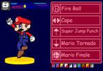 Smash Bros Delta-Mario