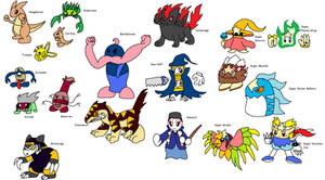 New Kirby Enemies 3 by YingYangHeart