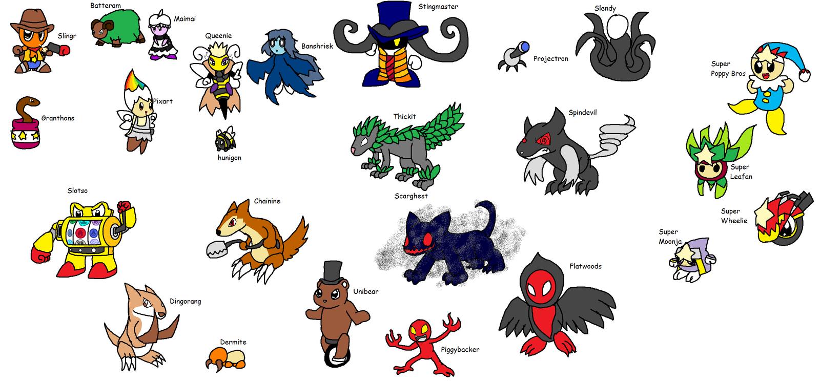 New Kirby Enemies 4 By Yingyangheart On Deviantart