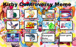 My Controversy meme of Kirby
