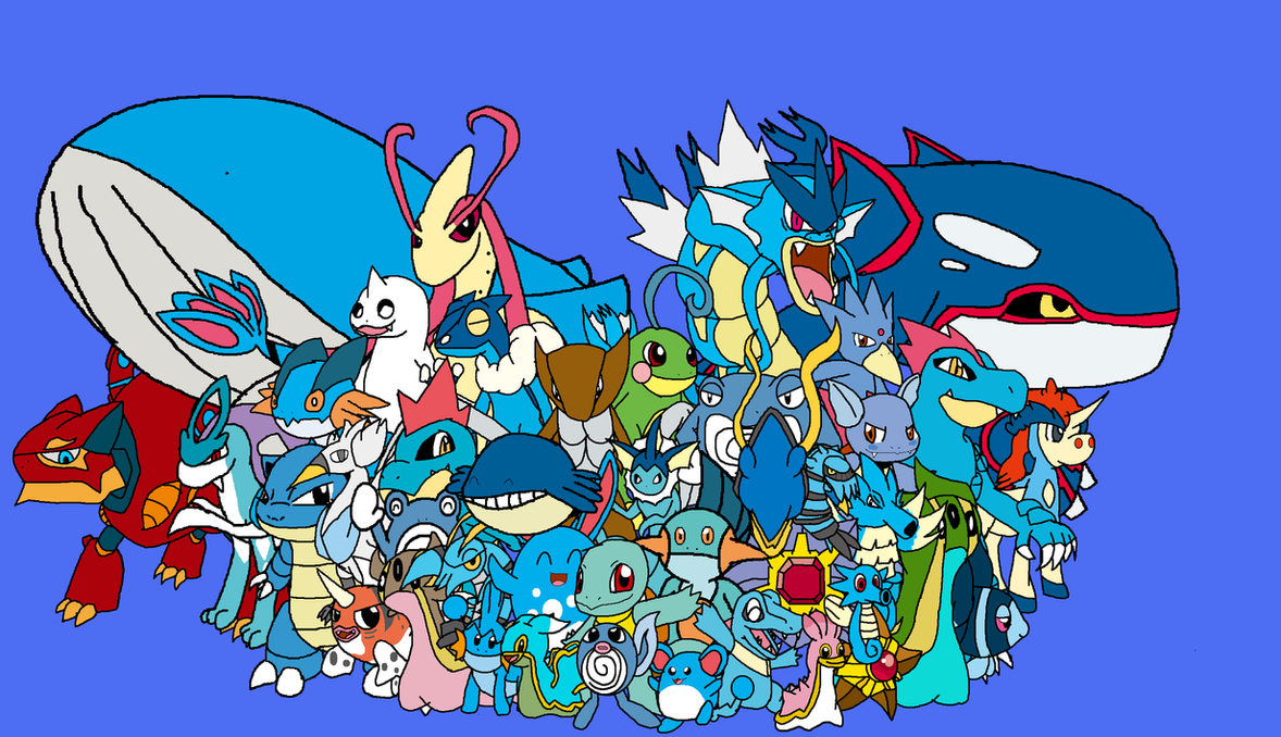all time favorite pokemon water by yingyangheart on deviantart