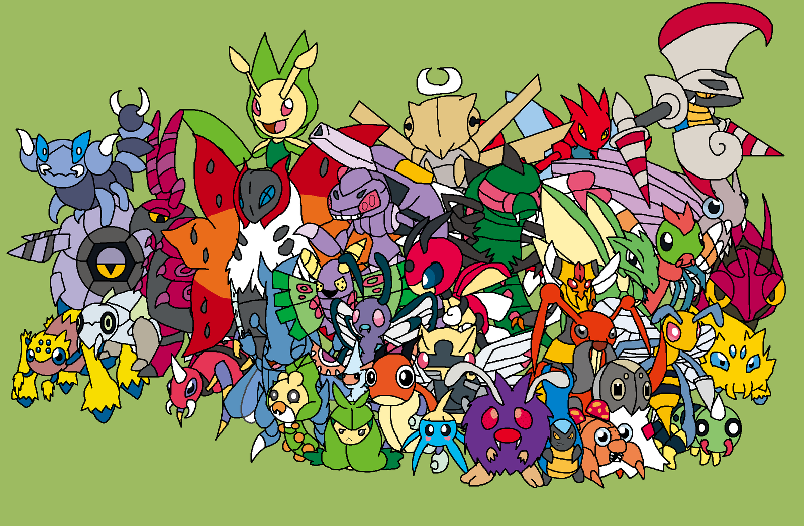 all bug type pokemon cards images pokemon images