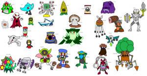 New Kirby Enemies 9 by YingYangHeart