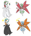 Mega Gardevoir Canon and Fanon by YingYangHeart