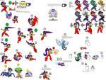 Shantae's Smash Bros moveset