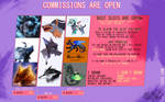 Commissions ( - 6 OPEN - ) by TYUKHEH