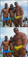 Muscles at the beach 2