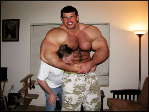 Gay Muscle Wrestling 44