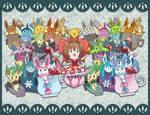 .:Stickers [Eeveelutions and CardCaptor Sakura]:.