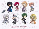 .:Akatsuki no Yona - Stickers:.