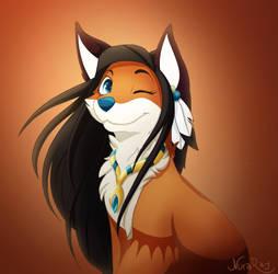 Foxahontas by NuraRay