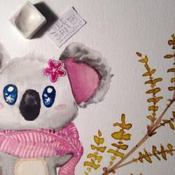 Koala WIP by JuleSan