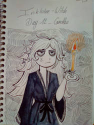 Inktober - Day 12 - Candles by SarahDealerEvans