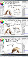 Hair color tutorial by hews for a certain friend