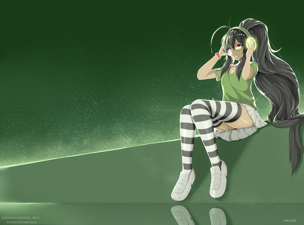 Commission 1 : The Beauty of Green