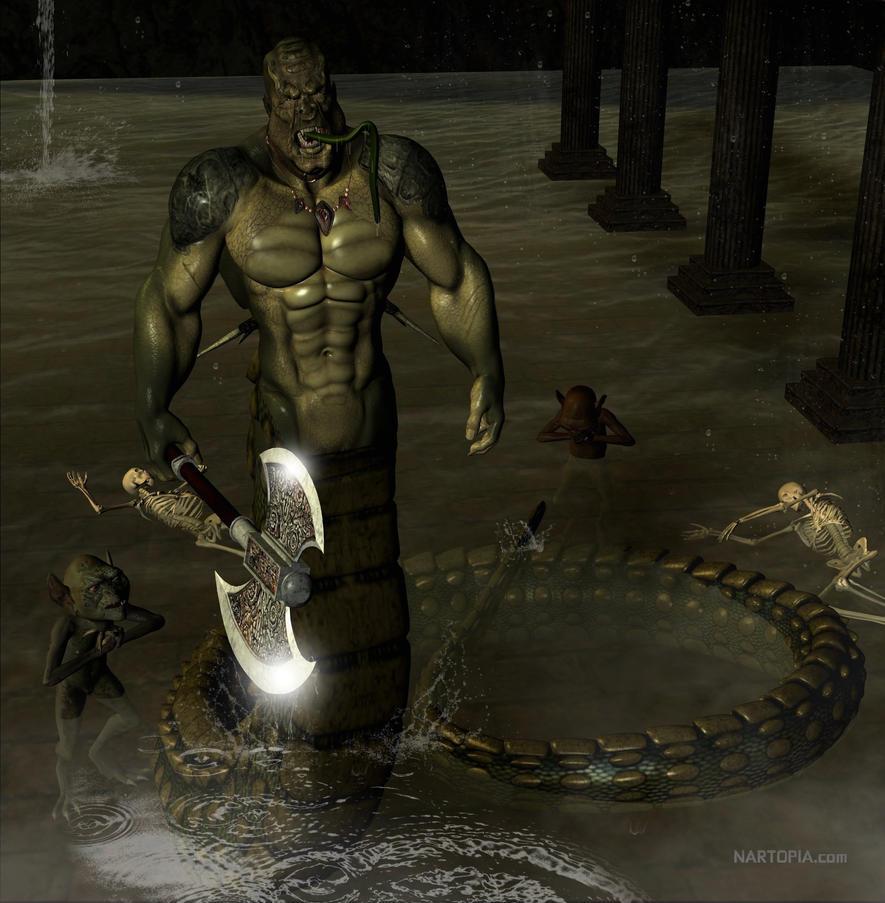 Half Human Half Dragon Mythology - photo#8