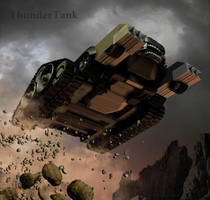 ThunderCat Chronicles: Tank by blackzig
